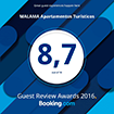 Premio Guest Review Awards de Booking.com