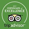 Certificate of Excellence TripAdvisor
