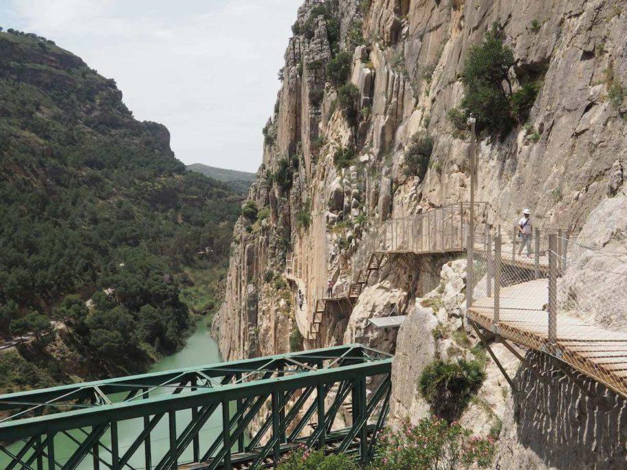 Caminito del Rey, en la provincia de Málaga